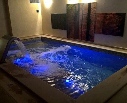 Costruzione piscine coperta