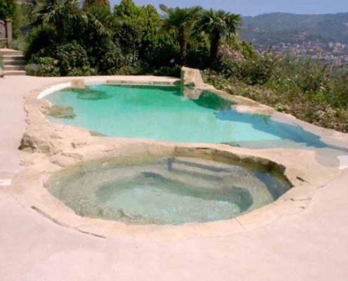 costruzione piscina interrata andora 6
