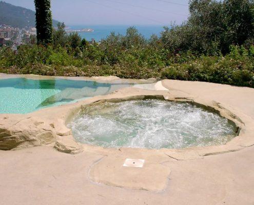 costruzione piscina interrata andora 1