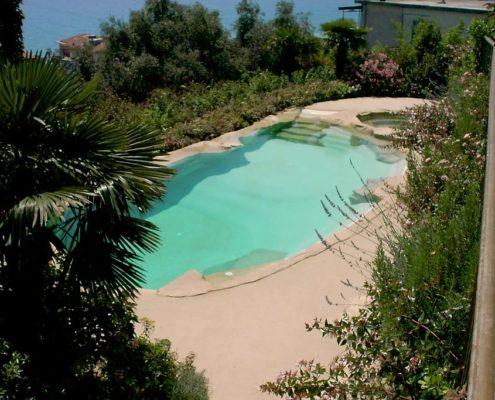 costruzione piscina interrata andora 3