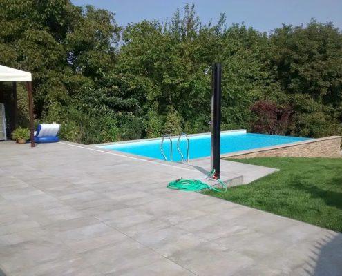 costruzione piscina interrata infintypool avigliana (TO) 4