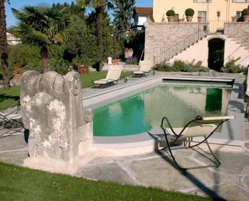 costruzione piscina interrata collina di Torino 05