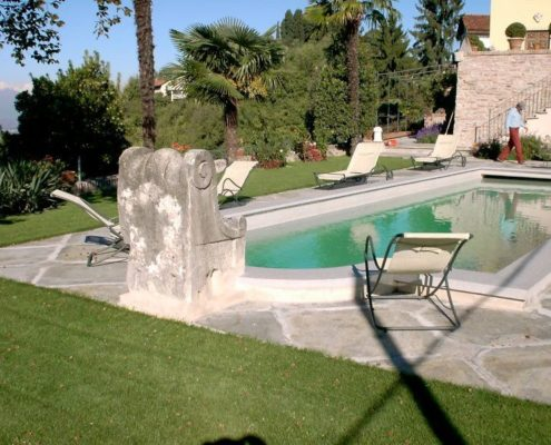 costruzione piscina interrata collina di Torino 04