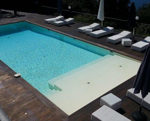 costruzione piscina interrata costa azzurra Francia 04