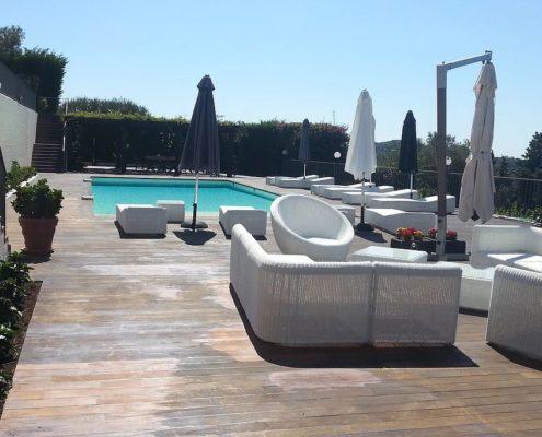 costruzione piscina interrata costa azzurra Francia 02