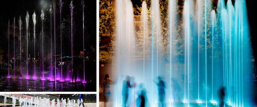 Giochi D Acqua.Piazza Con Giochi D Acqua Costruzione Piscine A Torino