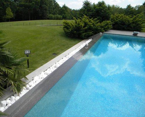 Costruzione piscine interrata parco la mandria 05