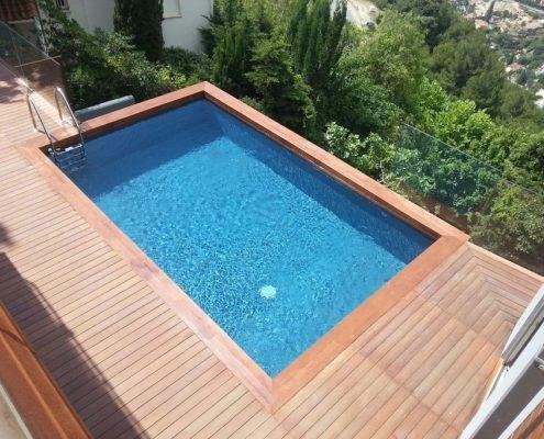 costruzione piscina interrata montecarlo 05
