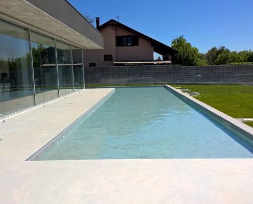 costruzione piscina interrata orbassano 06