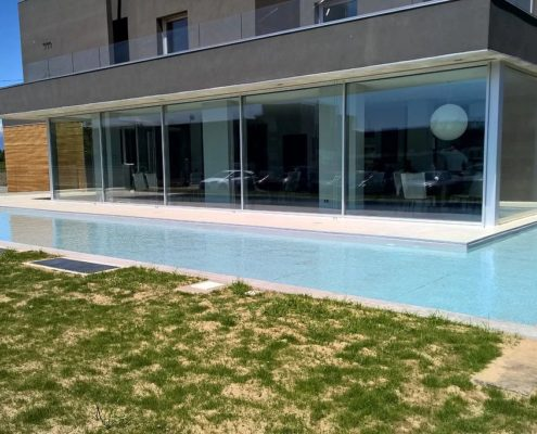 costruzione piscina interrata orbassano 02
