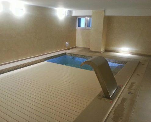 Costruzione piscine coperta Torino 09