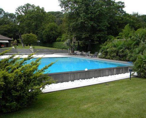 Costruzione piscine interrata parco la mandria 01