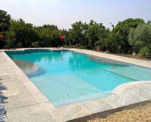 Costruzione piscine interrata Torino Sassi 14