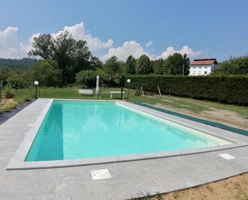 costruzione piscina interrata avigliana (TO) 7