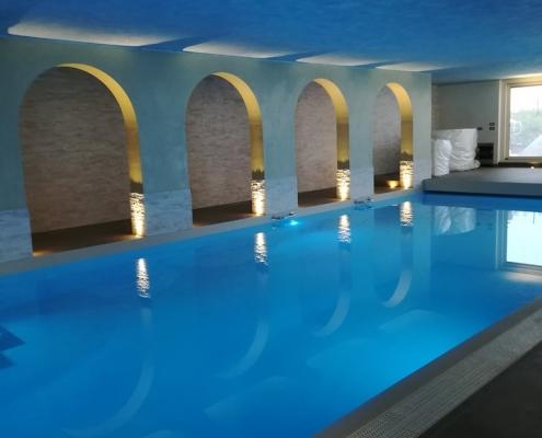 costruzione piscina coperta Alessandria 31