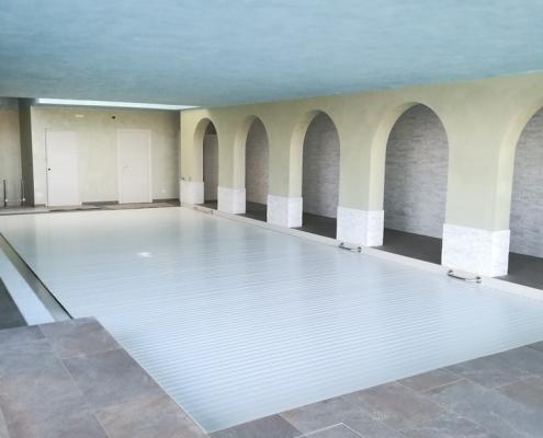 costruzione piscina coperta Alessandria 27