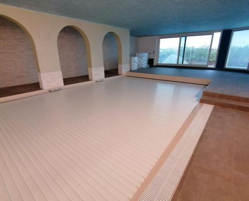 costruzione piscina coperta Alessandria 21