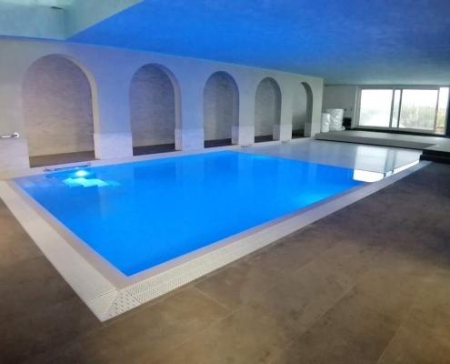 costruzione piscina coperta Alessandria 03