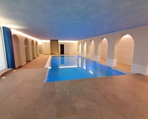costruzione piscina coperta Alessandria 02