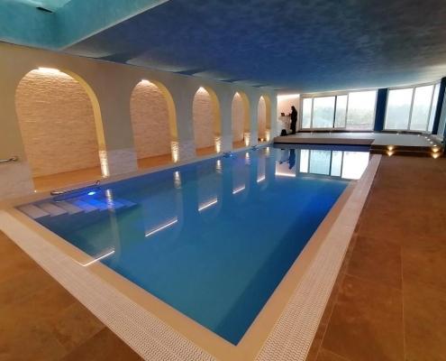 costruzione piscina coperta Alessandria 01